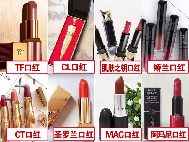 世界口红品牌排名榜前8名,你都用过哪些?